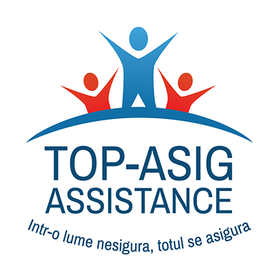 Design logo societate de brokeraj in asigurari - Top Asig Assistance