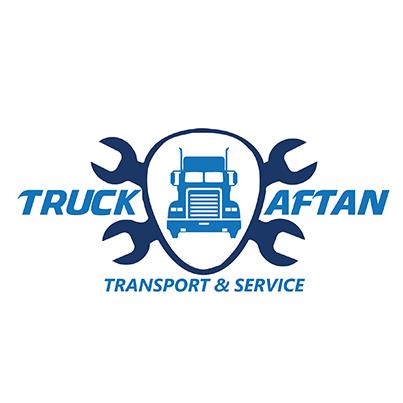 Design logo firma transport si service camioane - Truck Aftan