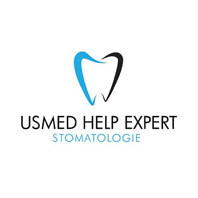 Design logo cabinet stomatologic - Usmed Help Expert