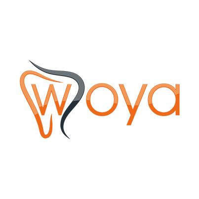 Design logo cabinet stomatologic - Woya