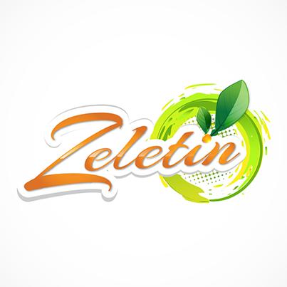 Zeletin - creare logo producator sucuri naturale