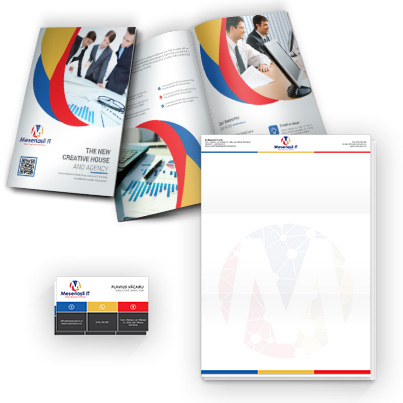 Design identitate companie companie webdesign - Meseriasii IT