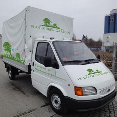 Design colantare masina firma amenajare spatii verzi si peisagistica - Plant Green Garden