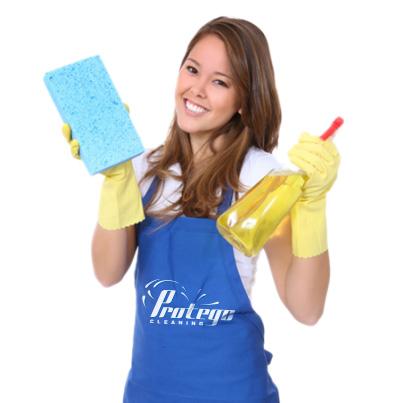 Design personalizare echipament de lucru ingrijitori curatenie - Protego Cleaning