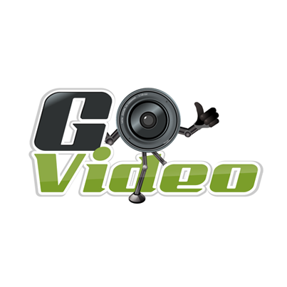 Design logo comerciant aparate video - Go Video