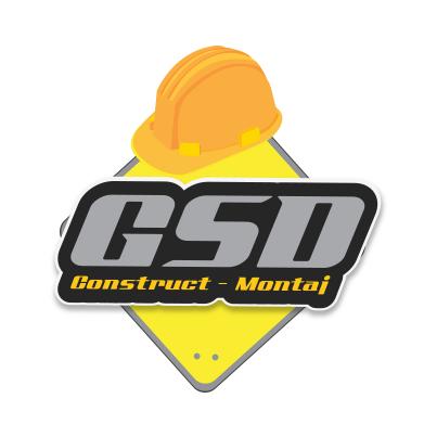 Sigla firma constructii cladiri rezidentiale si nerezidentiale GSD Construct Montaj