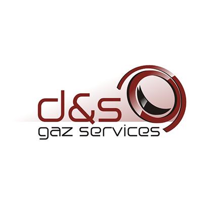 Design sigla firma instalatii gaze D&S Gaz Services