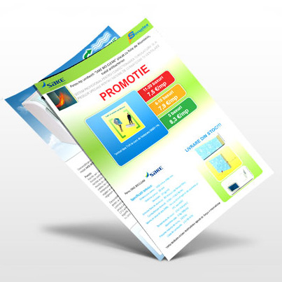 Design brosura companie furnizoare de echipamente climatizare si ventilatie Simplex