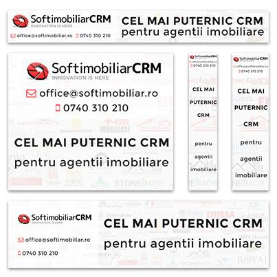 Design banner promovare CRM agentii imobiliare - SoftImobiliar CRM