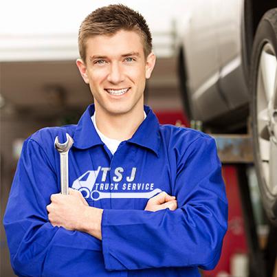 Design personalizare echipament de lucru service auto - TSJ Truck Service
