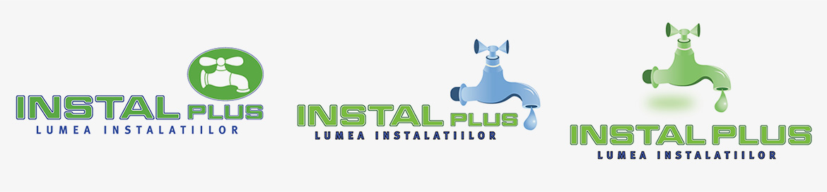 Design logo firma Instal Plus