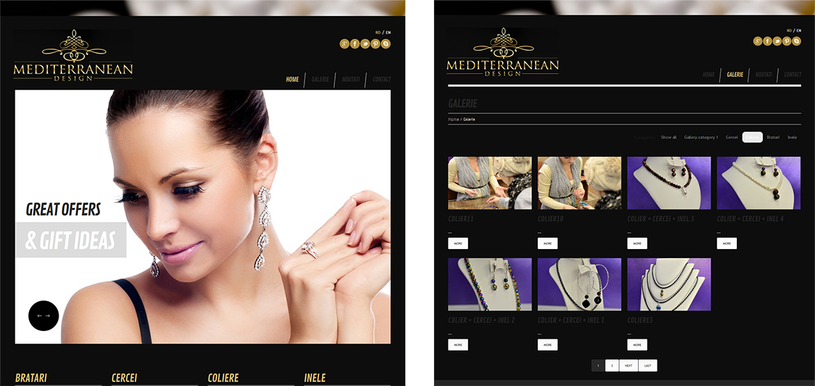 Design site web Mediterranean Design