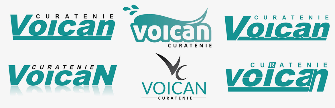 Design logo Voican curatenie